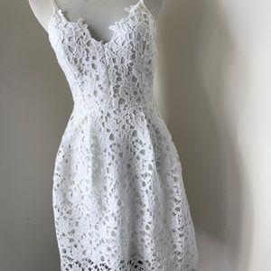 ASTR the label Lace Midi dress new